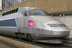 TGV-Atlantique Nr. 376 in Paris