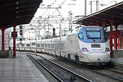 Alvia Serie 130 in Madrid Chamartin.