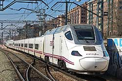 Alvia Serie 130 in Vallecas.